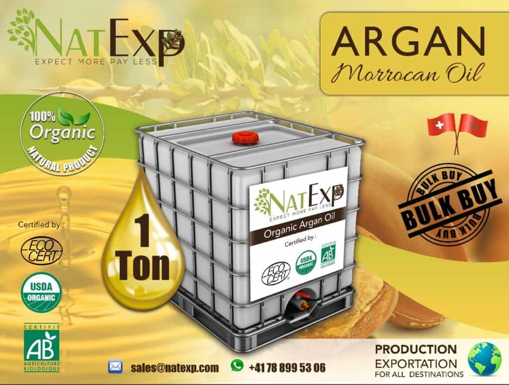 argan oil company morocco natexp-suisse-argan-oil-1-tone-vrac-bulk argan oil Morocco; Argan oil company; Argan oil bulk; Organic Argan oil; argan oil, competitive