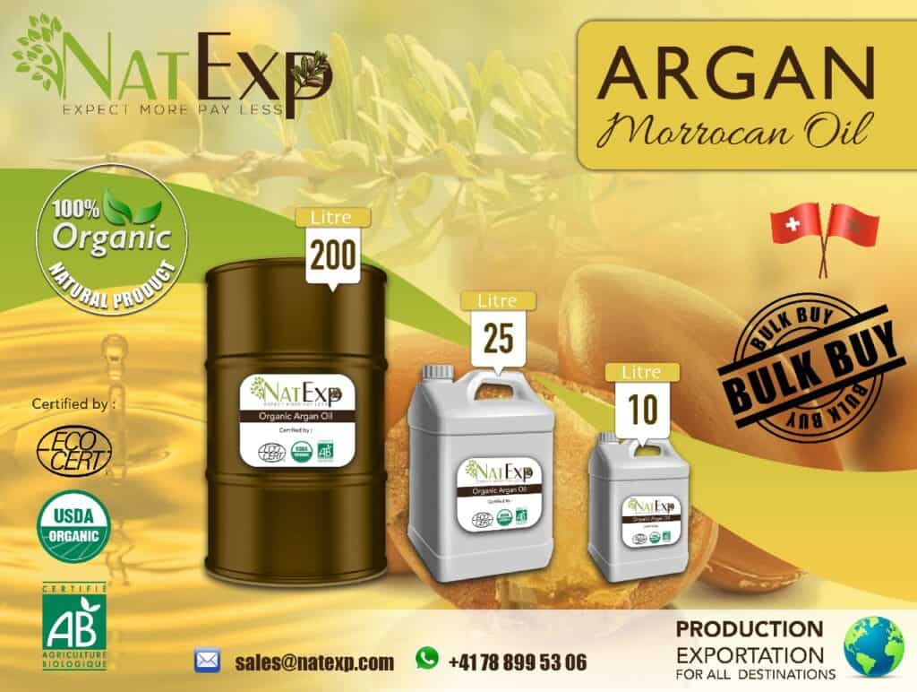 Wholesale argan oil company morocco natexp-suisse-argan-oil-1-tone-vrac-bulk argan oil Morocco; Argan oil company; Argan oil bulk; Organic Argan oil; argan oil